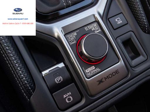 Chế độ X-Mode trên Subaru