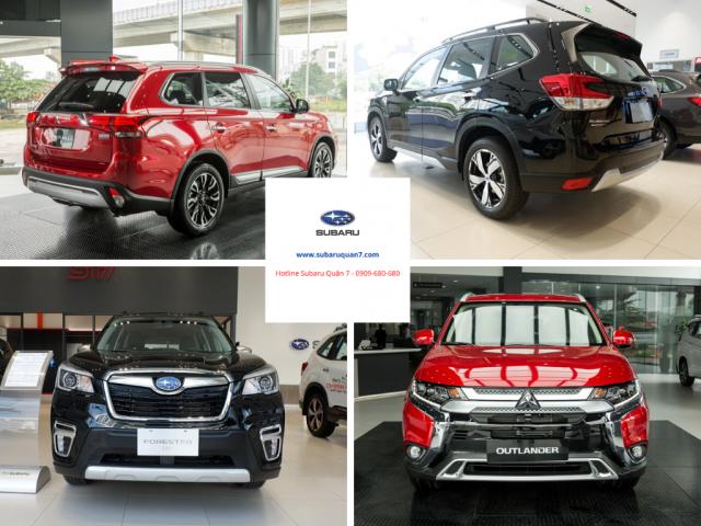 Subaru Forester 2020 giá bao nhiêu