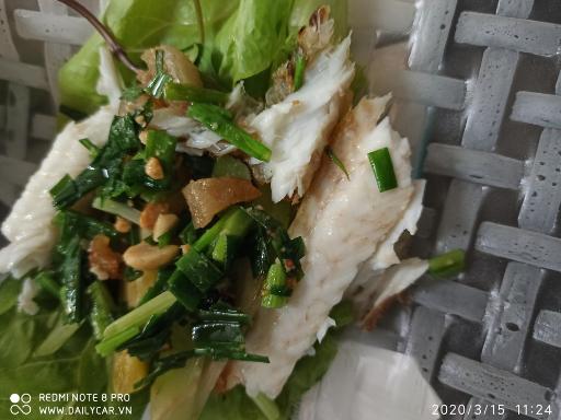 Cá lóc nướng Biên Thùy